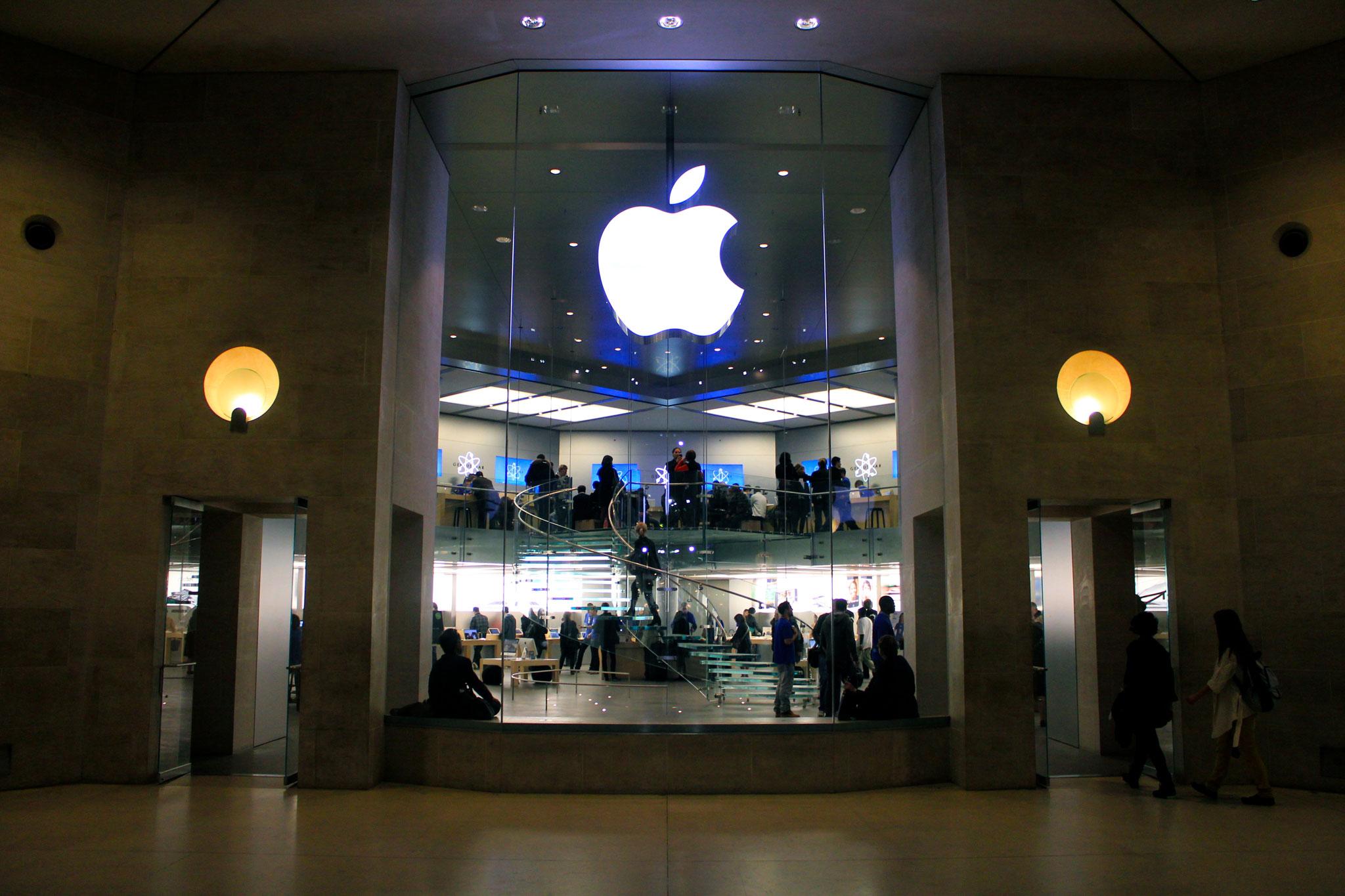 Apple Store Carrousel du Louvre